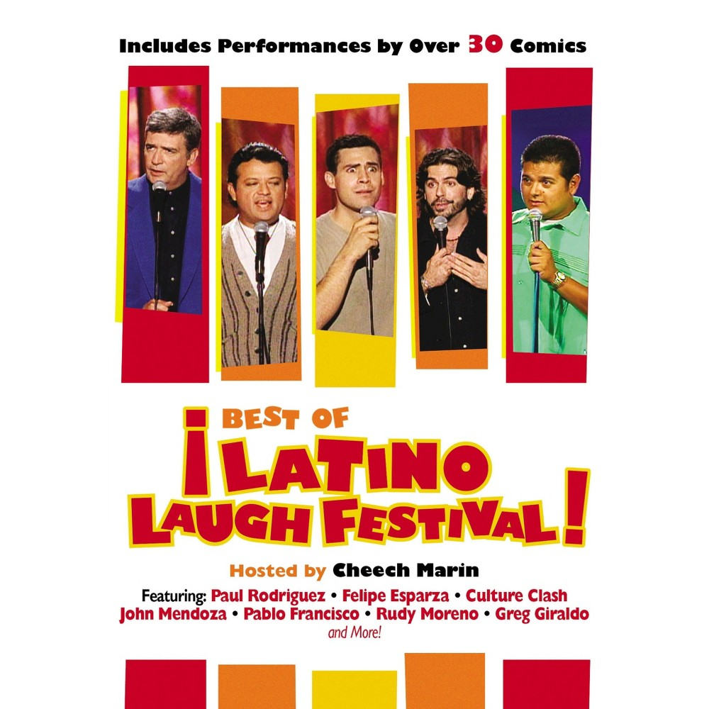 The Best Of The Latino Laugh Festival Dvd