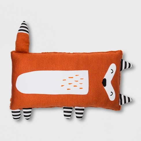 Fox Body Pillow Orange Pillowfort