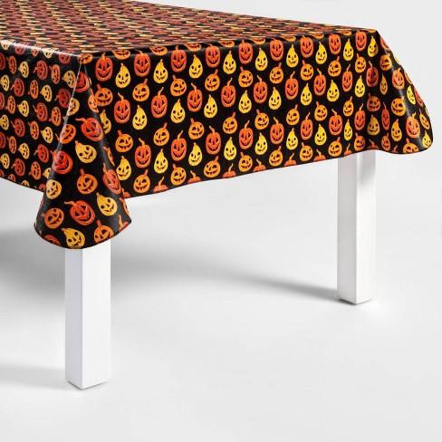"60"" x 84"" Pumpkins Halloween Tablecloth - Hyde & EEK! Boutique™ - image 1 of 1"