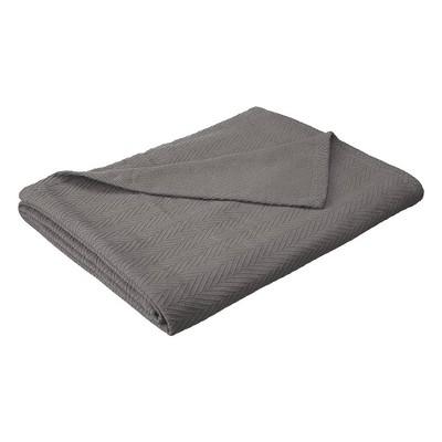 eLuxury Metro Weave Cotton Blanket
