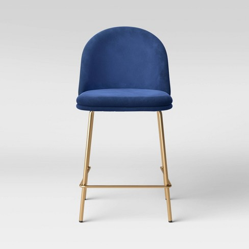 Nils Brass Base Counter Height Barstool - Project 62™ - image 1 of 4