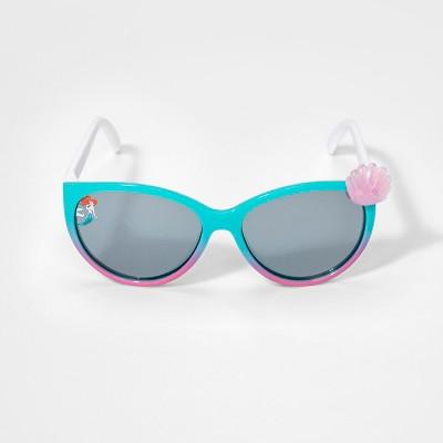 Girls' Disney The Little Mermaid Sunglasses - Turquoise One Size