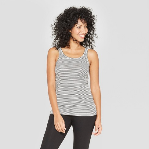Women's Striped Any Day Tank - A New Day™ - image 1 of 3
