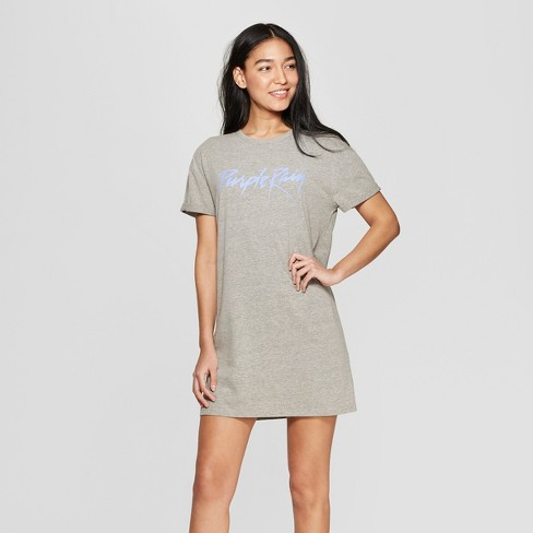 05757fc4 Women's Purple Rain Lace-Up Oversized Sleep T-Shirt. Shop all Bravado
