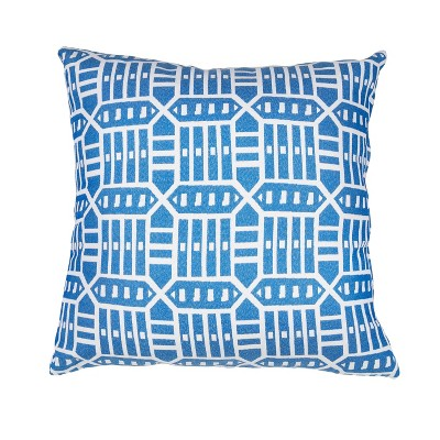 Pacifica Lounge Throw Pillow Roland Blue - Astella