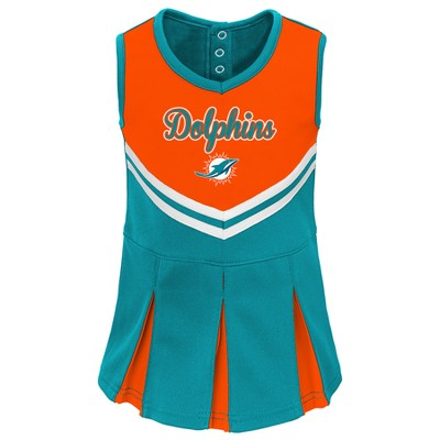 new product 7a3fc 365e0 NFL Miami Dolphins Infant/ Toddler In the Spirit Cheer Set