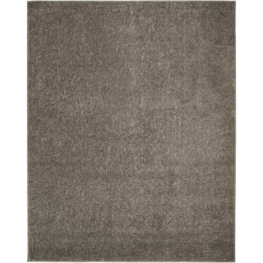 8'X10' Solid Loomed Area Rug Gray - Safavieh