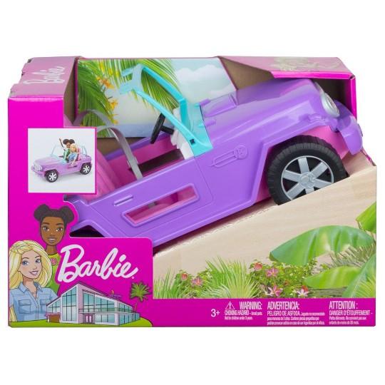 Barbie Purple Jeep Vehicle image number null