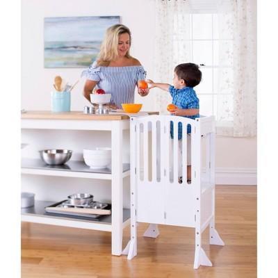 Kids' Contemporary Kitchen Helper White - Guidecraft