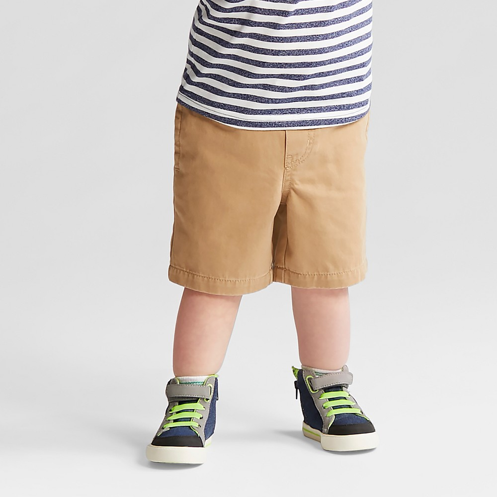 Toddler Boys' Pull-On Shorts - Cat & Jack Brown - 5T
