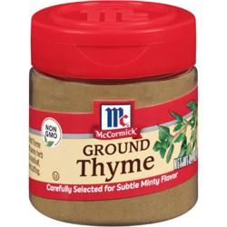 McCormick Ground Thyme - .7oz