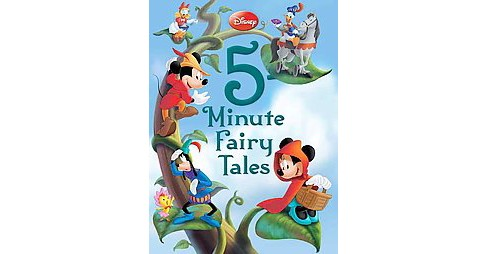 Disney 5-Minute Fairy Tales (Hardcover) by Disney Enterprises Inc. - image 1 of 1