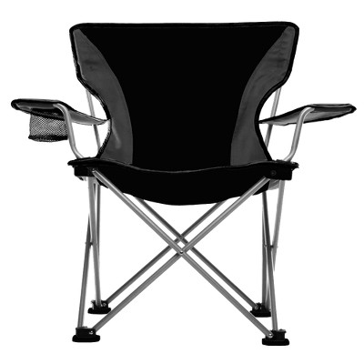 Travel Chair with Carrying Case - Black