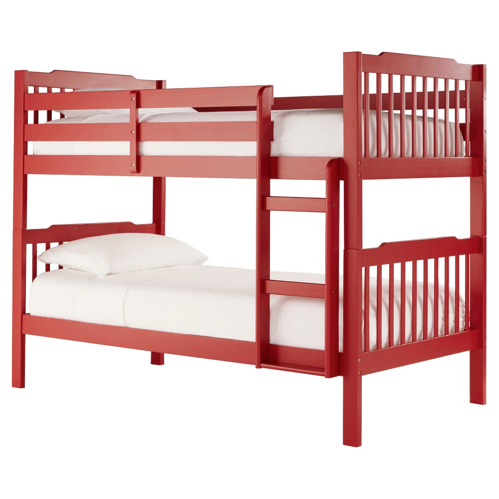 Nacona Mission Bunk Bed - Red
