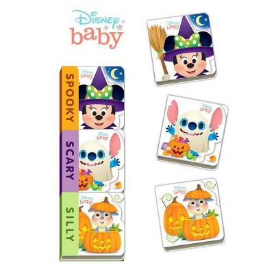 Disney Baby Spooky, Scary, Silly - (Board Book)