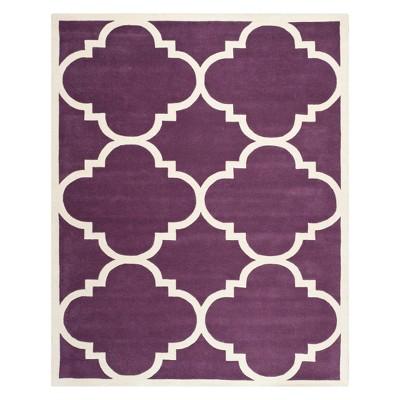 Penny Quatrefoil Design Tufted Accent Rug - Safavieh
