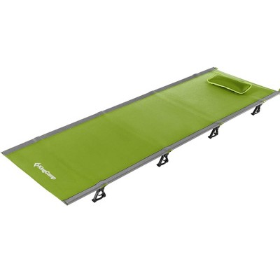 KingCamp Ultralight Compact Folding Camping Tent Cot Bed, 4.9 Pounds, Green