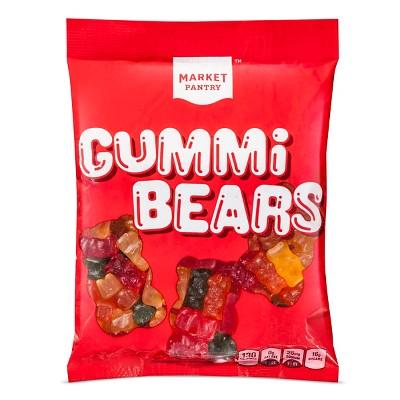 Assorted Flavors Gummi Bears - 8oz - Market Pantry™