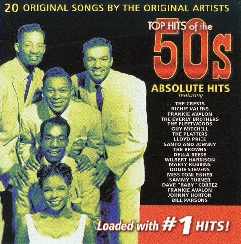 Various - Top hits of the 50's:Absolute hits (CD) - image 1 of 1