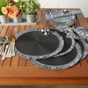 Round Fringed Placemat Set of 6 - image 4 of 4