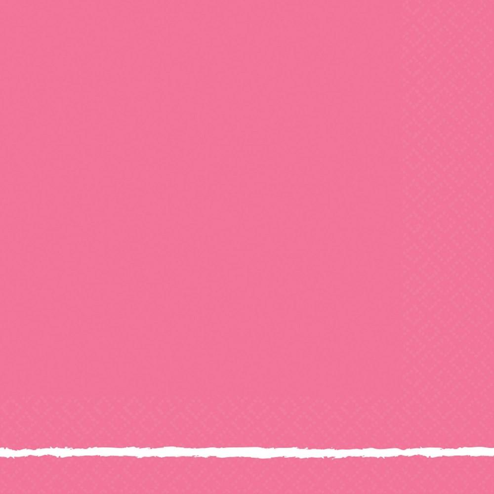 Image of 30ct Printed Lunch Napkin Dark Pink - Spritz