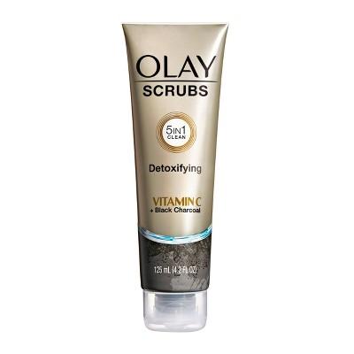 Olay Scrubs Detoxifying - Vitamin C & Black Charcoal - 4.2 fl oz
