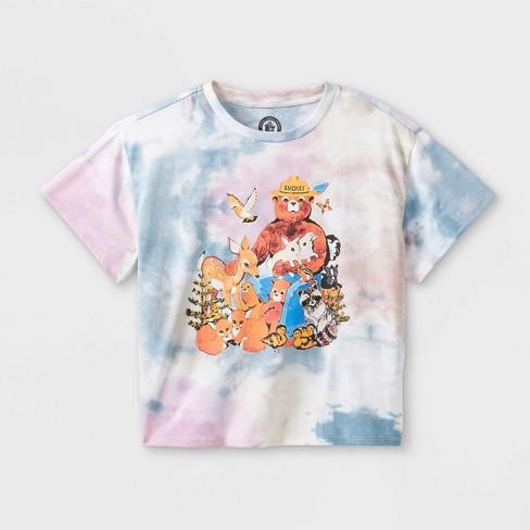 Girls' Smokey The Bear Graphic Short Sleeve T-Shirt - art class™ - image 1 of 2
