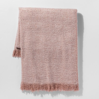 Pink Faux Mohair Throw Blanket - Project 62™