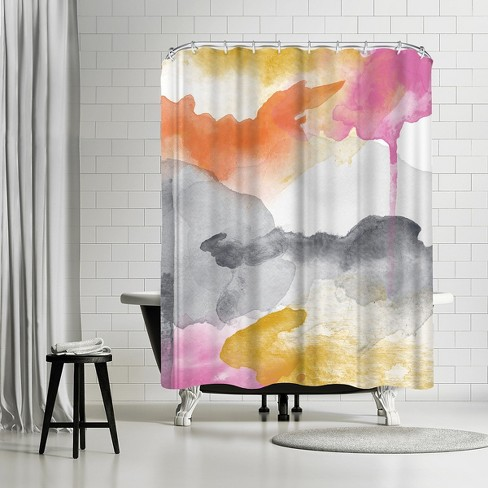 Americanflat Abstract 2 01 By Amy Brinkman 71 X 74 Shower Curtain Target