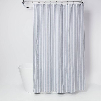 Dyed Shower Curtain Blue - Threshold™