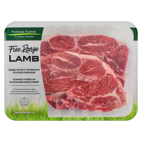 Thomas Farms Australian Lamb Shoulder Chops - price per lb - image 1 of 1