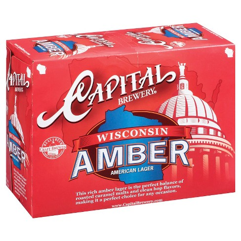 Capital® Amber - 12pk / 12oz Cans - image 1 of 1