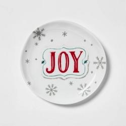 "7.8"" Melamine Joy Salad Plate White - Wondershop™"