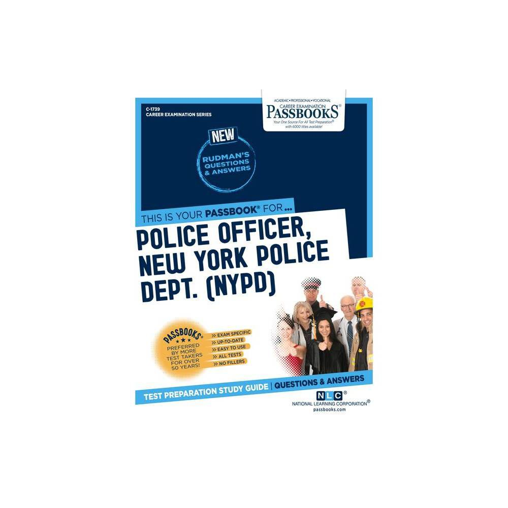 Police Officer New York Police Dept Nypd Career Examination Paperback
