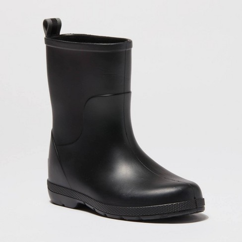 Boys' Totes Charley Boots - Black - image 1 of 4