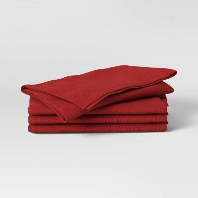 4pk Cotton Easy Care Napkins - Threshold™