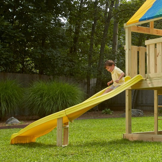 Swing-N-Slide Side Winder Slide - Yellow image number null