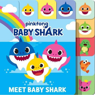 Meet Baby Shark - (Baby Shark)(Board)