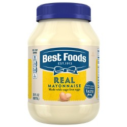 Best Foods Mayonnaise Real - 30oz