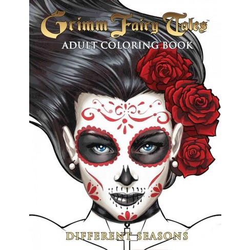 Grimm Fairy Tales Adult Coloring Book Different Seasons Target
