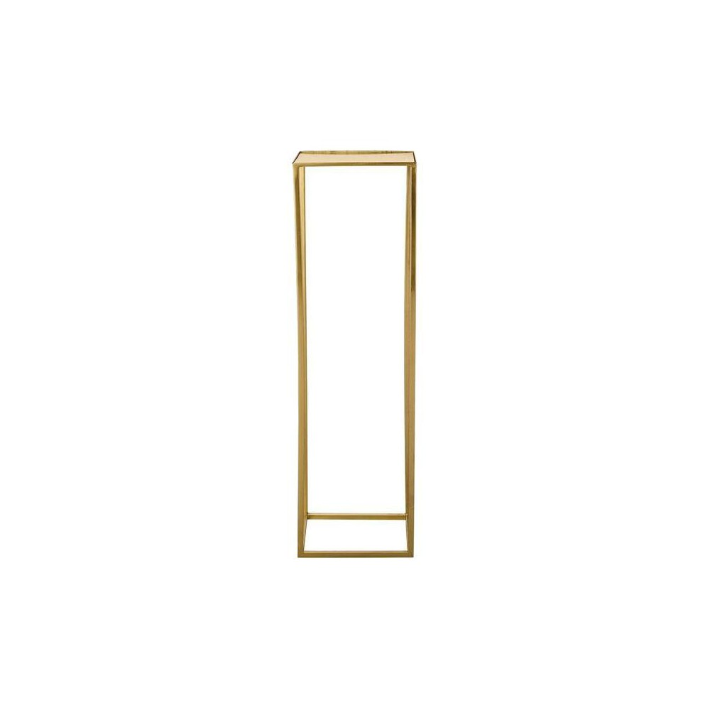 Metal Pedestal - Gold - 3R Studios