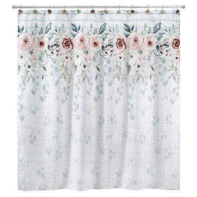 Avanti Spring Garden Shower Curtain
