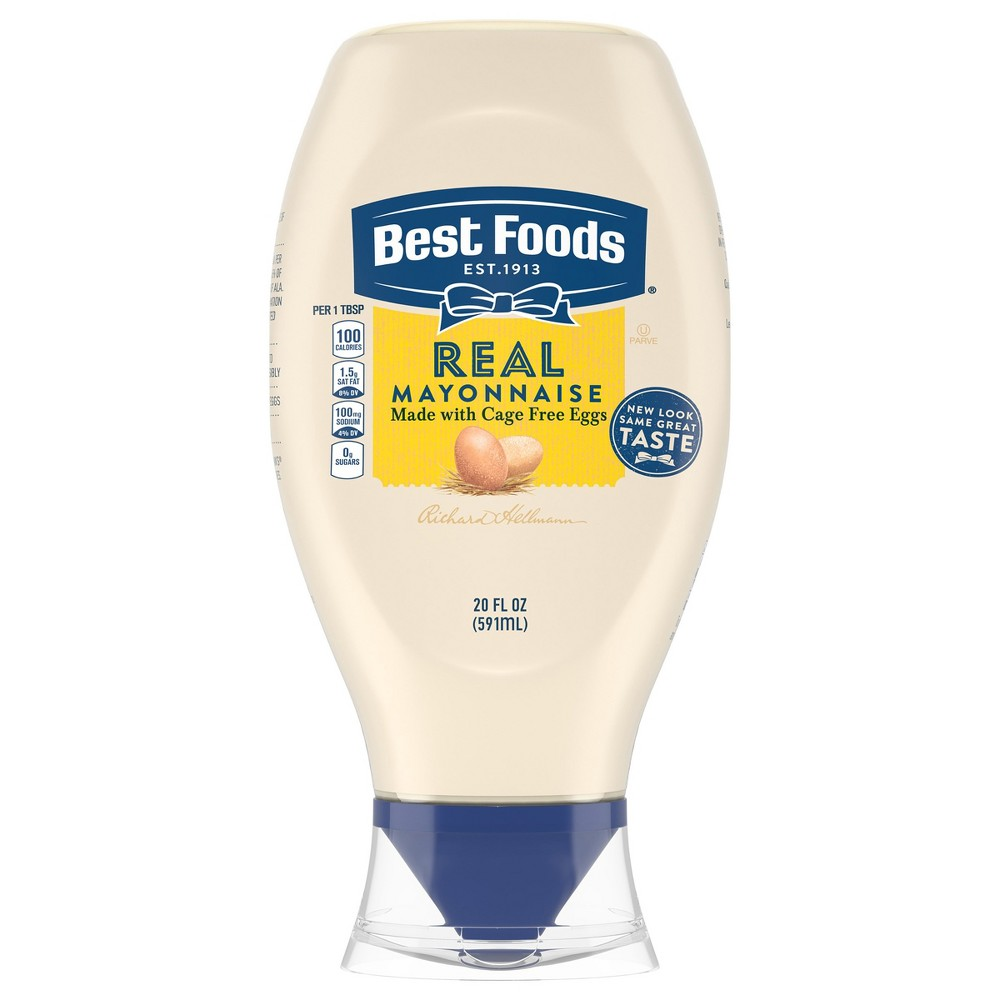 Best Foods Real Mayonnaise Squeeze - 20oz