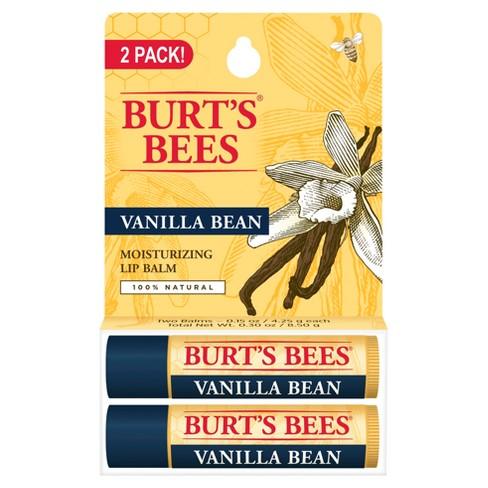 Burt's Bees 100% Natural Moisturizing Lip Balm - Vanilla Bean - 0.30oz - image 1 of 4