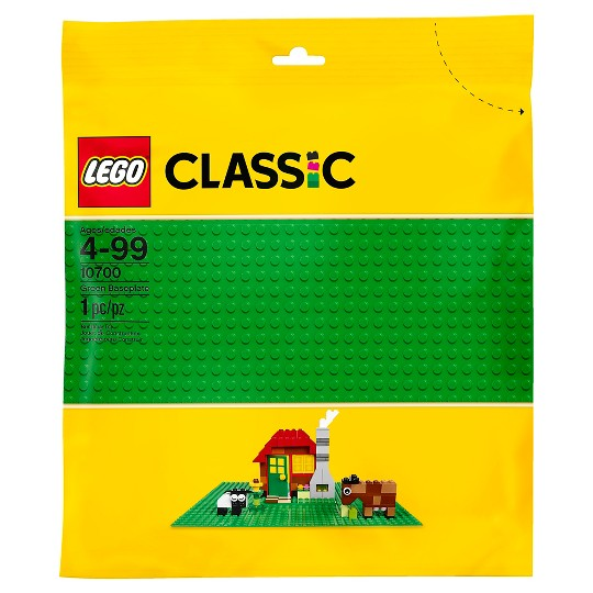 LEGO Classic Green Baseplate 10700 image number null