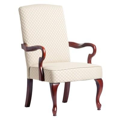Derby Beige Gooseneck Arm Chair - Comfort Pointe