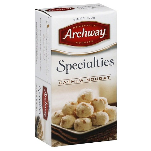 Archway Specialties Cashew Nougat Cookies - 6 oz - image 1 of 1