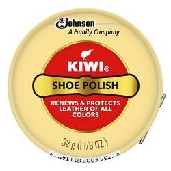 Kiwi Shoe Polishes and Balms Small Polish Paste Tin