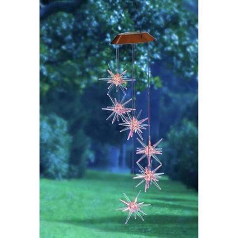 "26"" Acrylic/Metal Solar Mobile Starburst - Evergreen - image 1 of 1"
