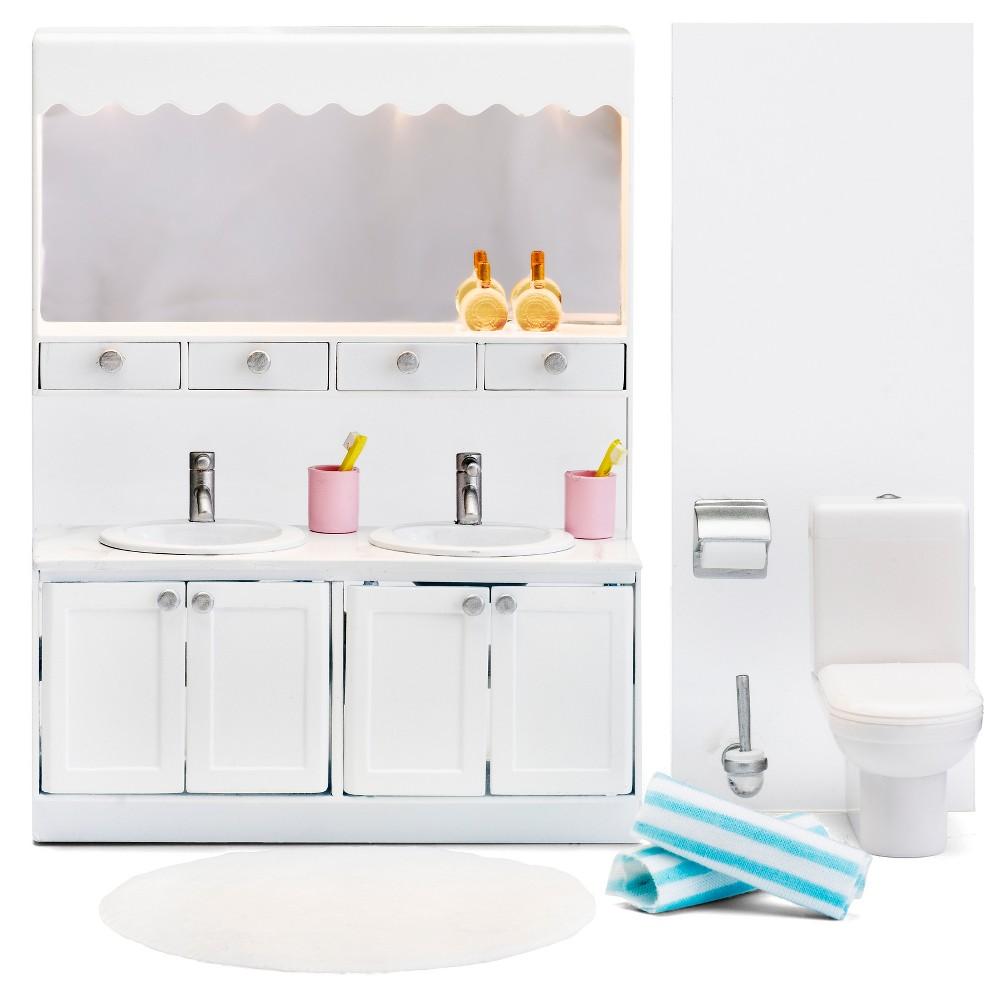 Lundby Bathroom Set, Doll Furniture